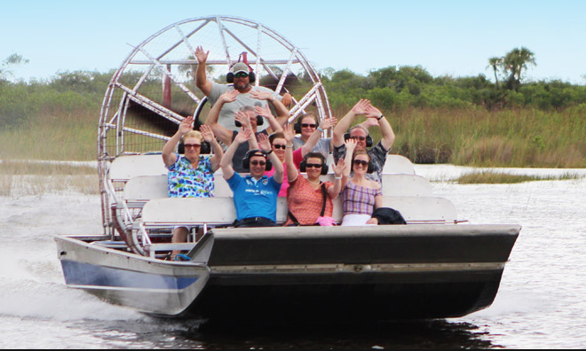 Airboat Tours – $53 pp (4 passengers min)