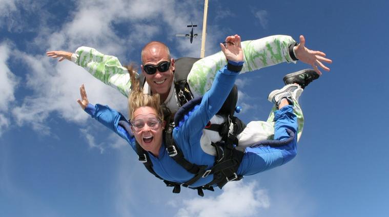 Tandem Skydiving - $200 pp (4 passengers min)