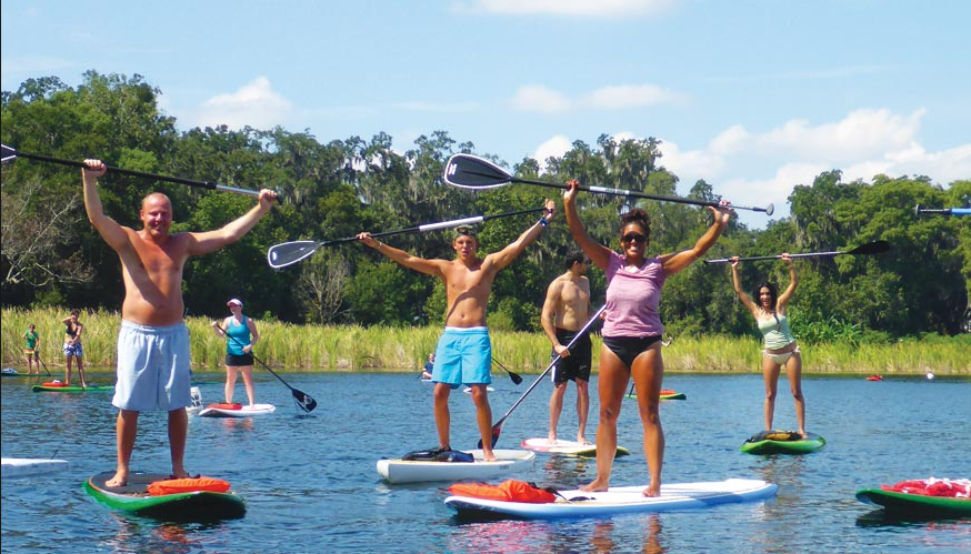 Paddle Boarding- $45 pp (4 passengers min)